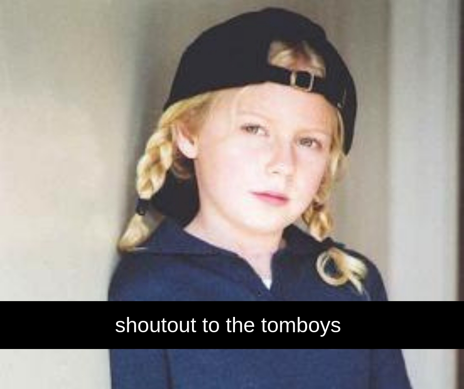 Shoutout to the Tom Boys