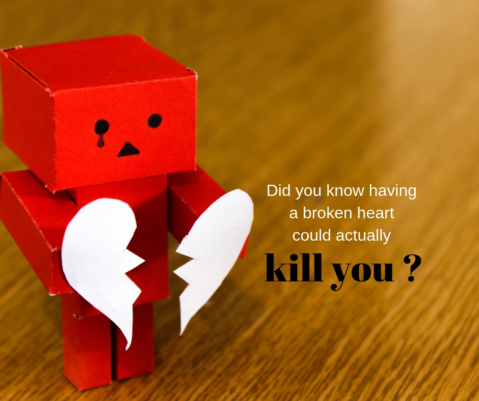 Did you know Broken heart can kill you?